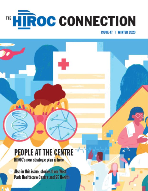HIROC Connection cover