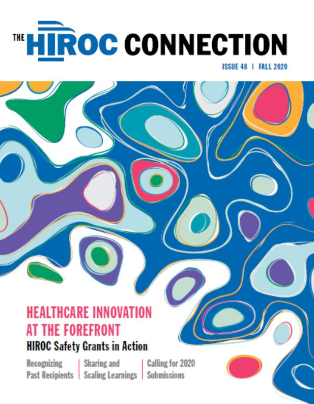 Cover of HIROC Connection, fall 2020