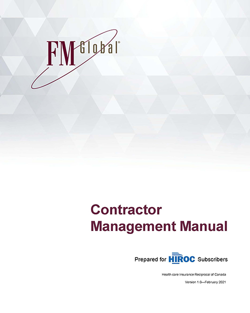 Contractor Management Manual