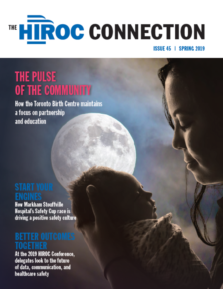 Cover of the Spring 2019 HIROC Connection