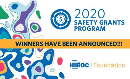 Safety Grants winners announced