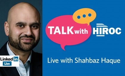 Talk with HIROC with Shahbaz Haque promo