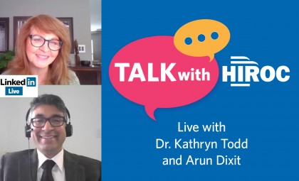 Talk with HIROC with Arun and Kathryn