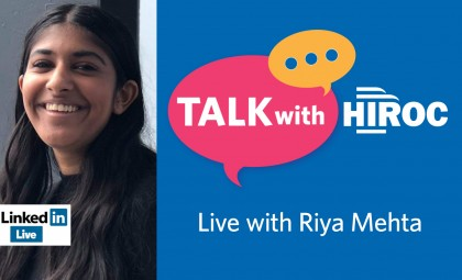 Talk with HIROC with Riya