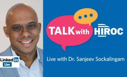 """Apart, Not Alone"" – Sitting Down With CAMH's Dr. Sanjeev Sockalingam"